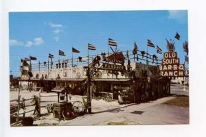 Clewiston FL Old South Bar B Q Ranch Postcard