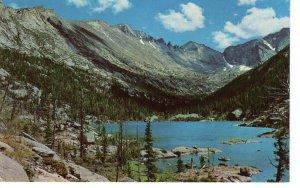 US    PC3989  MILLS LAKE, ROCKY MOUNTAIN NATIONAL PARK, COLORADO