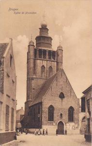 Eglise De Jerusalem, Bruges, West Flanders, Belgium, 1900-1910s