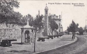 Pilgrim Fathers' Memorial, Western Shore, Southampton, Hampshire, England, 00...