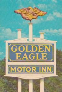 North Carolina Charlotte Golden Eagle Motor Inn