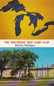 Michigan Dtroit The Wolverine Post Card Club