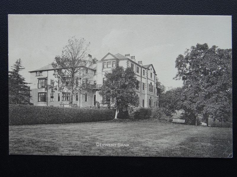 Cumbria KESWICK Derwent Bank Hotel - Old Postcard by H. Mayson's