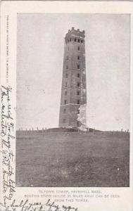 Massachusetts Haverhill Tiltons Tower Boston State House 35 Miles Away Can Be...