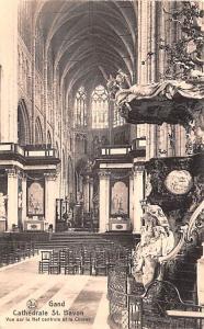 Belgium, Belgique, Belgie, Belgien Gand Cathedrale St Bavon  Gand Cathedrale ...