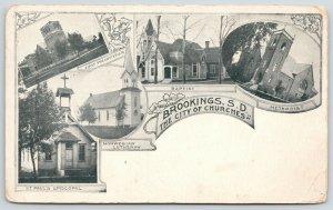 Brookings Episcopal-Lutheran-Baptist-Presbyterian-Methodist Church~Art Nouveau