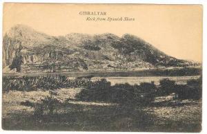 GIBRALTAR , Rock from Spanish shore, 00-10s