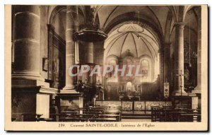 Postcard Old Sainte Odile Convent Interior of the Church