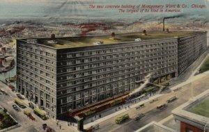CHICAGO, Illinois, 1919, New Concrete Building of Montgomery Ward
