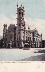 Pennsylvania Philadelphia The Masonic Templr