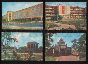 054813 VIETNAM views Collection 10 old color postcards