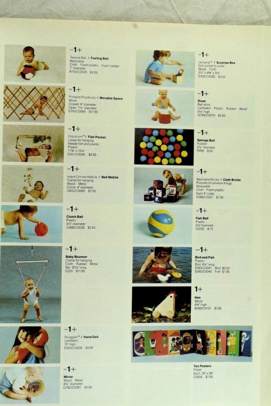 1971 Creative Playthings Toy Catalog Sasha Gregor Dolls Prices Doll House