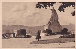 France Pau La Chaine des Pyrenees vue de la Promenade du meme nom 1945