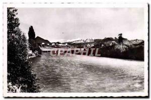 Modern Postcard Annemasse L & # 39Arve the Bridge & # 39Etrembieres
