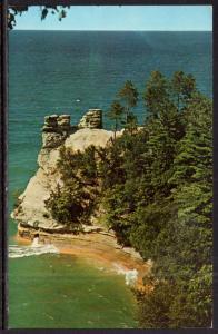 Michigan's Minor Castle,Pictured Rocks National Lakeshore Park,MI BIN