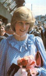 Princess Diana Opens Community Centre Deptford 1982 Postcard