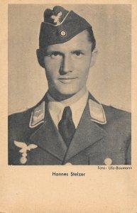 Rare Postcard, Austrian actor, Hannes Stelzer in Uniform, WW2 Das Programm...