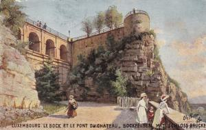 LUXEMBOURG, 00-10s; Le Bock Et Le Pont Du Chateau, TUCK # 737