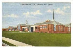 Central ME Church, Asheboro, North Carolina, 30-40s