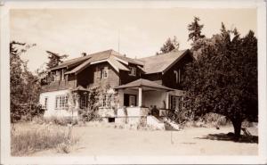 Farmhouse Inn Galiano Island BC British Columbia RPPC Postcard D45 *As Is