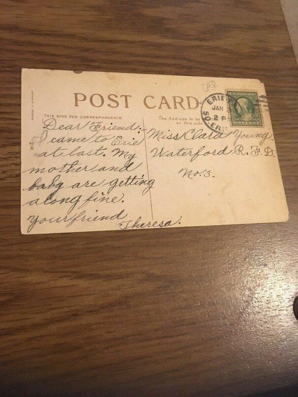 Vintage Postcard Christmas Greetings