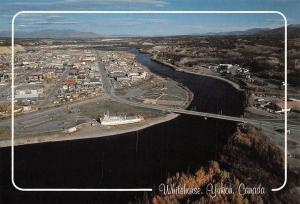 Canada Whitehorse, Yukon River Bridge Pont Panorama