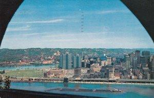 Pennsylvania Pittsburgh View From Mt Washington 1960