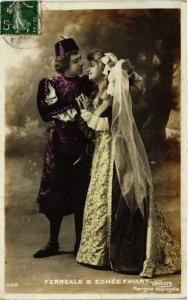 CPA Theater stars Ferreale & Edmée Favart . (528709)