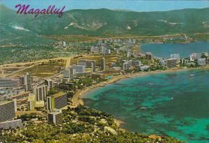 Spain Mallorca Magaluf Vista Parcial Aerea