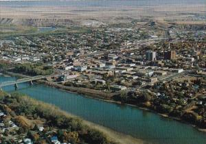 Canada South Saskatchewan River Medicine Hat Alta Alberta