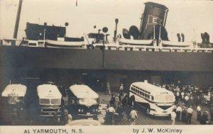 RP, YARMOUTH , Nova Scotia, Canada , 1938 ; Ship Arrival