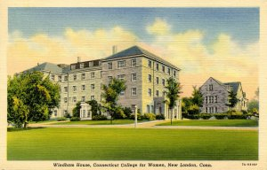 CT - New London. Connecticut College for Women, Windham House