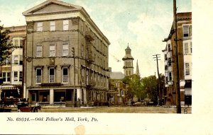 PA - York. Odd Fellows Hall   (glitter)