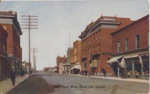 MOOSE JAW , CANADA - HIGH STREET looking west 1910s era