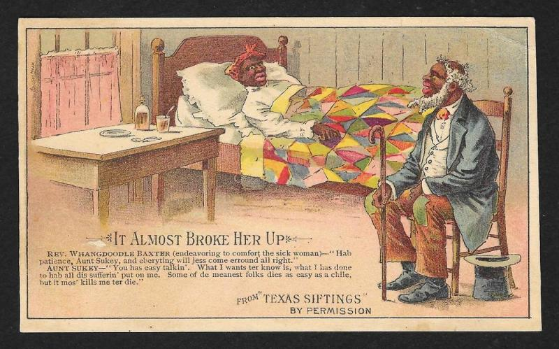 VICTORIAN TRADE CARD Arbuckles Ariosa Coffee Arbuckle Bros