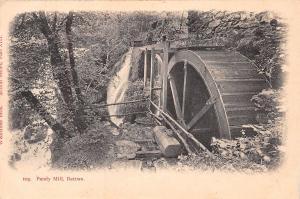 BETTWS Y COED WALES UK PANDY MILL WOOLSTONE BROTHERS POSTCARD 1910s