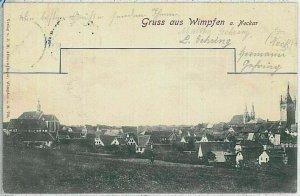 33664 - Ansichtskarten POSTCARD - Deutschland GERMANY - GRUSS AUS  Bad Wimpfen
