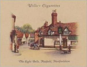 Wills Cigarette Card 2nd Series No 13 Eight Bells Hatfield Hertfordshire