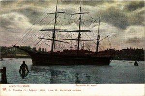 CPA AK Oosterdok SHIPS (783424)