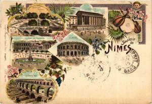 CPA Souvenir de NIMES (299810)