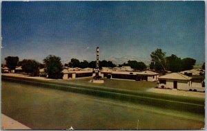Las Vegas, Nevada Postcard RANCH INN MOTEL Highway 91 Roadside / 1951 Cancel