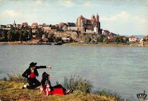France Neuf Brisach Le Rhin et Vieux Brisach Panorama Postcard