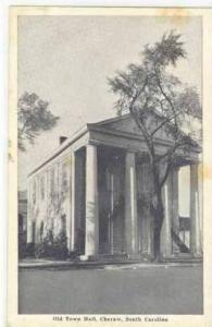Old Town Hall,Cheraw,SC,1920-30s