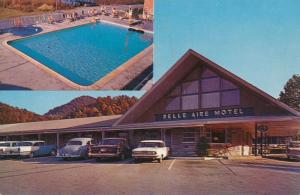 Belle Aire Motel on Airport Road - Gatlinburg TN, Tennessee - pm 1966 - Roadside