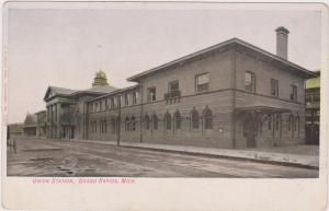 GRAND RAPIDS , Michigan , 1901-07 ; Railroad Train Station