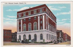 Masonic Temple, CHESTER, Pennsylvania, 30-40's