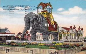 New Jersey Atlantic City Elephant Hotel Margate City An Old Landmark 1946