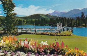 Canada Alberta Jasper Park Lodge Swimming Pool