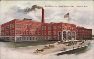 Coldwater MI Tappan Shoe Factory Industry c1910 Postcard