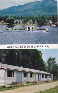 Lazy Daze Motel & Marina, Sicamous,  B.C.,  Canada,  40-60s